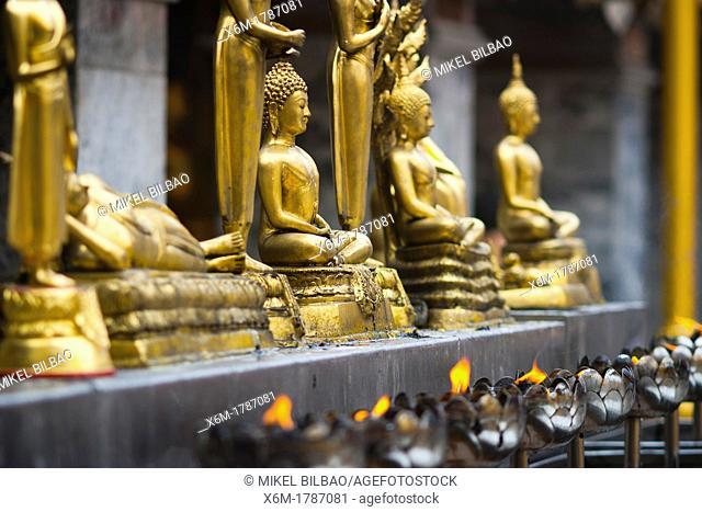 Wat Phrathat Doi Suthep temple  Chiang Mai, Thailand
