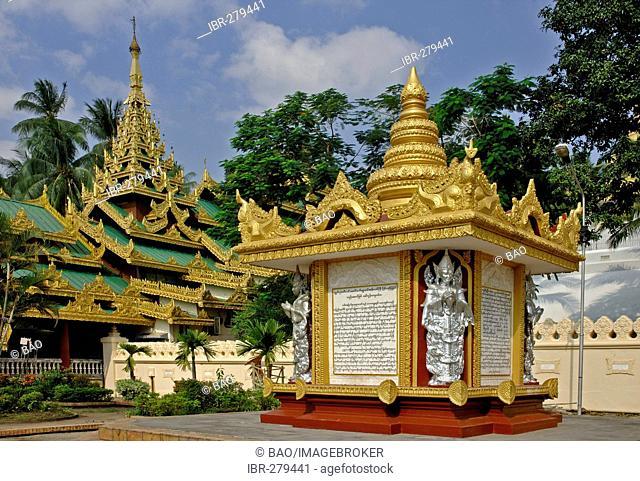 Shwedagonpagoda, Yangon, Myanmar, Burma