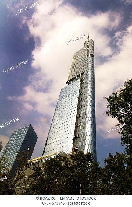 The Zifeng tower is the 7th tallest building in the world