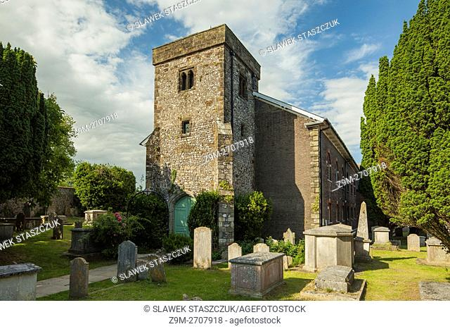 All Saints church in Lewes, East Sussex, England