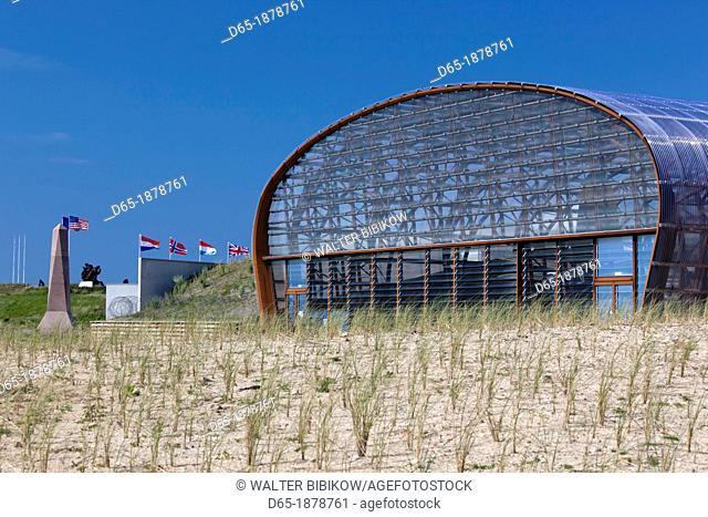 France, Normandy Region, Manche Department, D-Day Beaches Area, WW2-era D-Day invasion Utah Beach, Sainte Marie du Mont, Musee Utah Beach museum