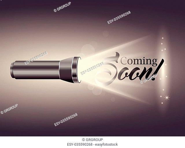 comming soon design, vector illustration eps10 graphic