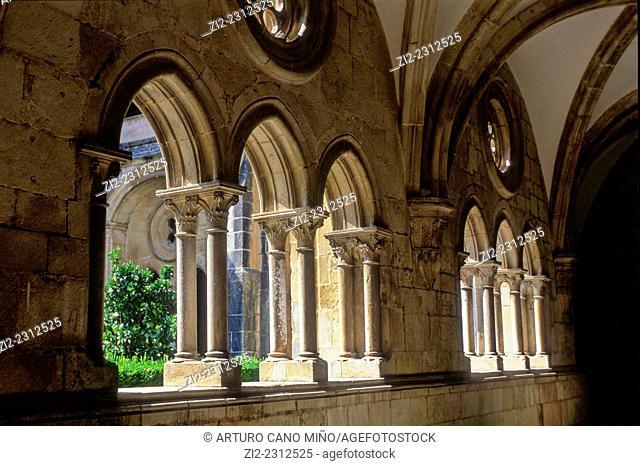 The Alcobaça Monastery, XIIIth century. Alcobaça, Portugal