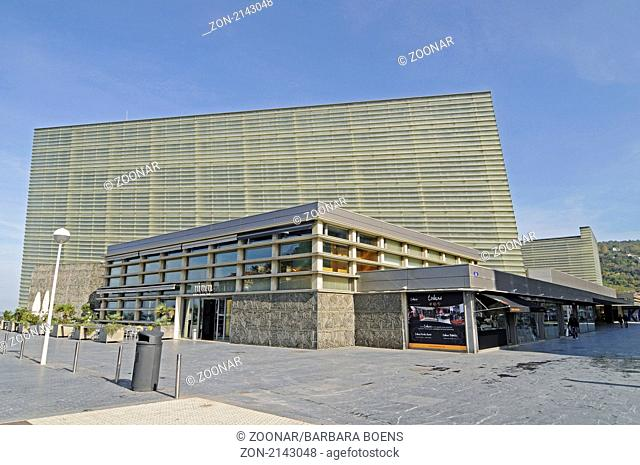 convention centre, Kursaal, San Sebastian, Pais Vasco, Basque Country, Baskenland, Spanien, spain