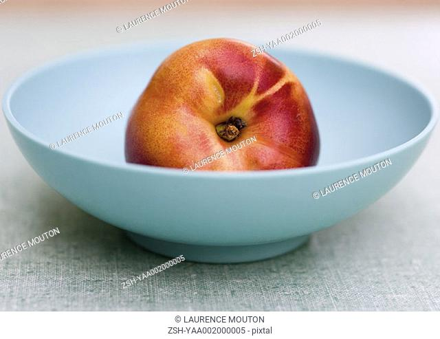 Nectarine in a bowl