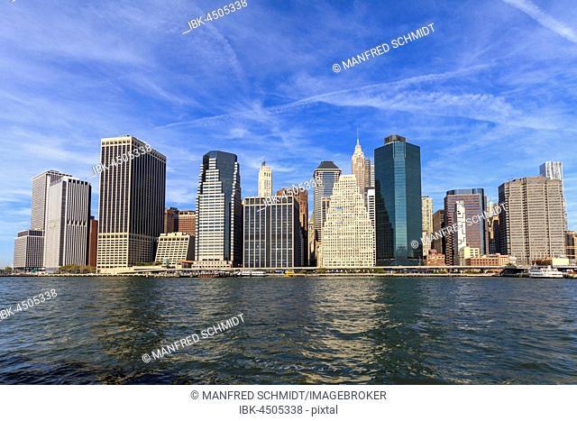 Skyscrapers, Skyline, Manhattan, New York City, New York, USA