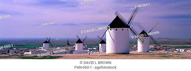 Windmills, LaMancha, Spain