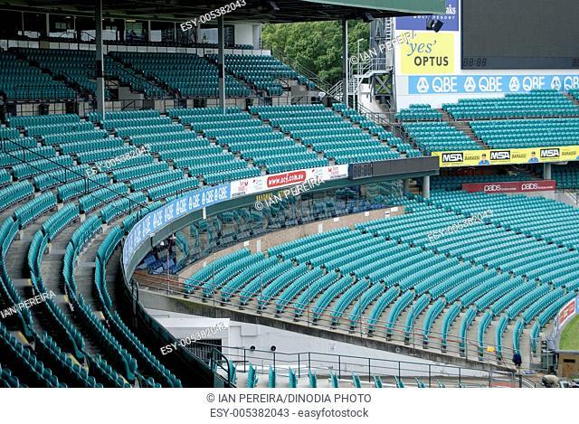 Seats at Sydney cricket ground ; Sydney ; Australia