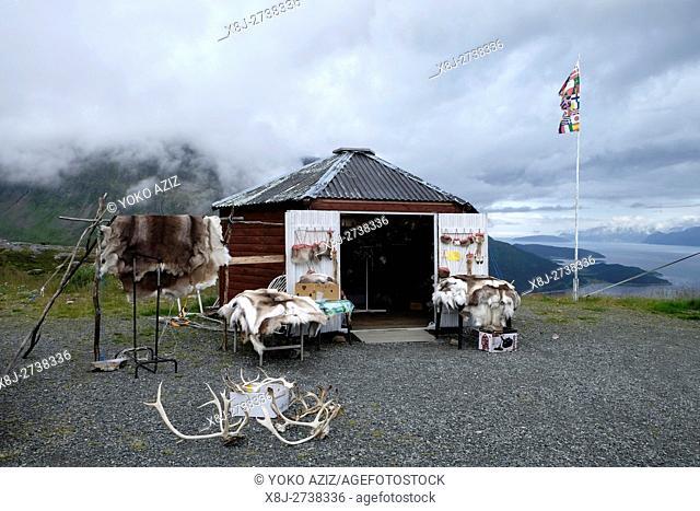 Norway, Alta, Souvenir shop
