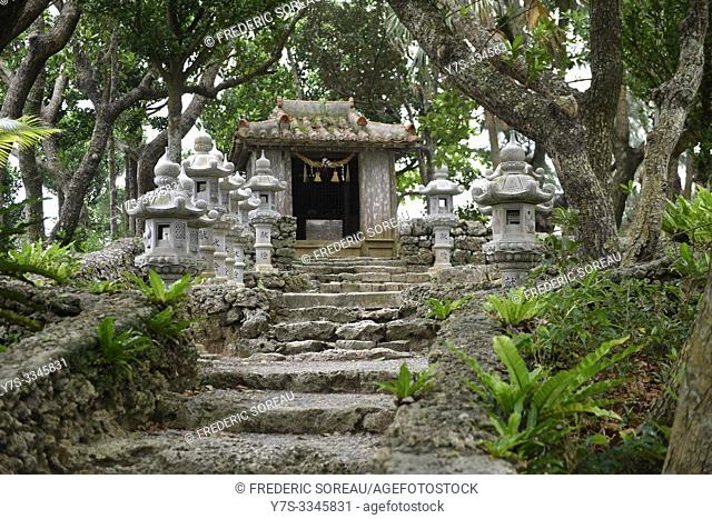 Temple of Kabira on Ishigaki island, Okinawa Prefecture, Japan, Asia