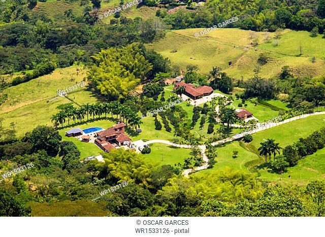 Country Farm House Panoramic Venecia, Antioquia, Colombia