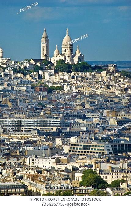 Montmartre and Sacre Coeur