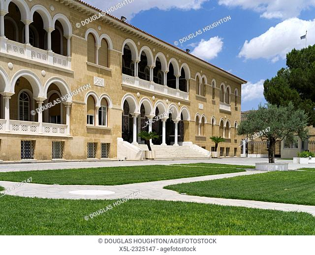 Old town South NICOSIA CYPRUS Archbishops Palace