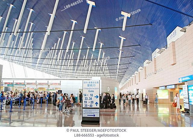 Shanghai airport, China