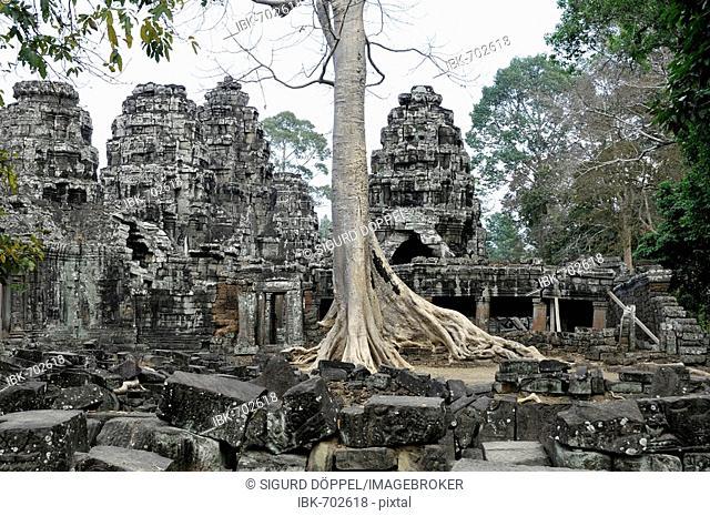 Banteay Kdei Temple, Angkor Thom, Cambodia, Southeast Asia