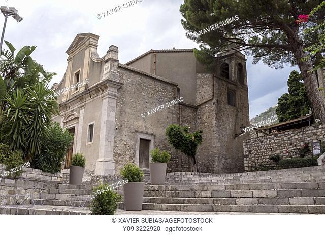 Carmine Church, Taormina, Sicily, Italy