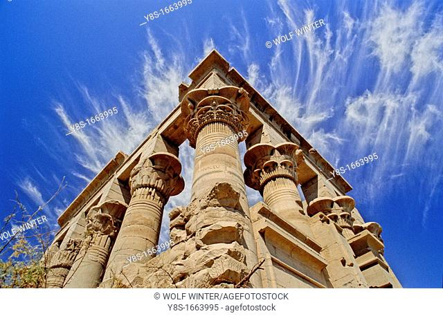 Temple of Isis, Philae, Egypt