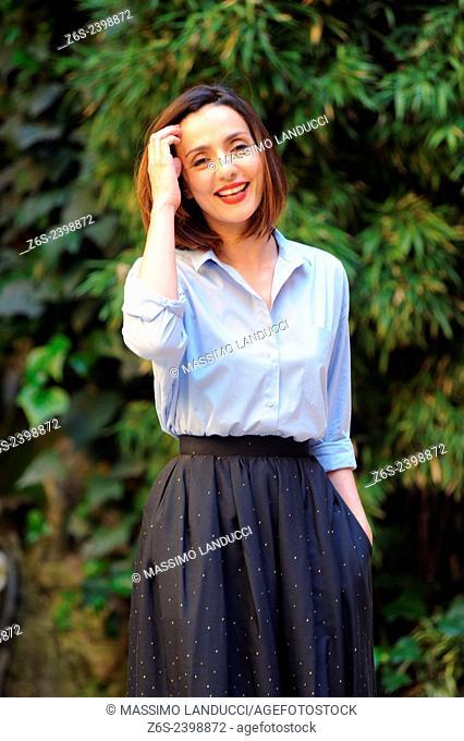 Ambra Angiolini; Angiolini; actress ; celebrities; 2015;rome; italy;event; photocall; la scelta