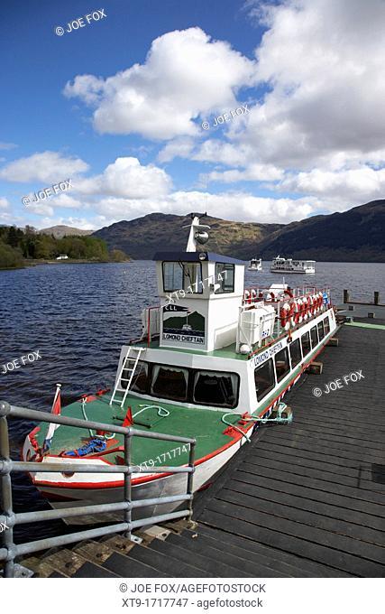 Lomond Chieftain cruise loch lomond boat tours on loch lomond Scotland UK