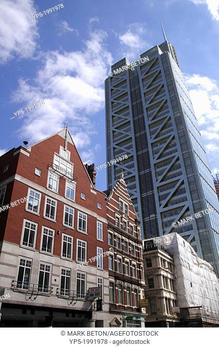 Heron Tower London view from Bishopsgate