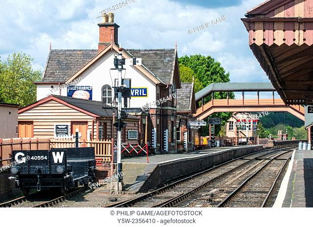 Bewdley station on the Severn Valley Railway, England