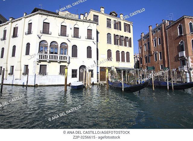 Venice, Veneto, Italy: Grand Canal