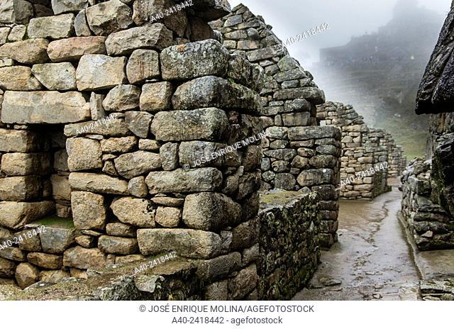 Archaeological site of Machu Picchu, Cusco, Peru, Hanan sector