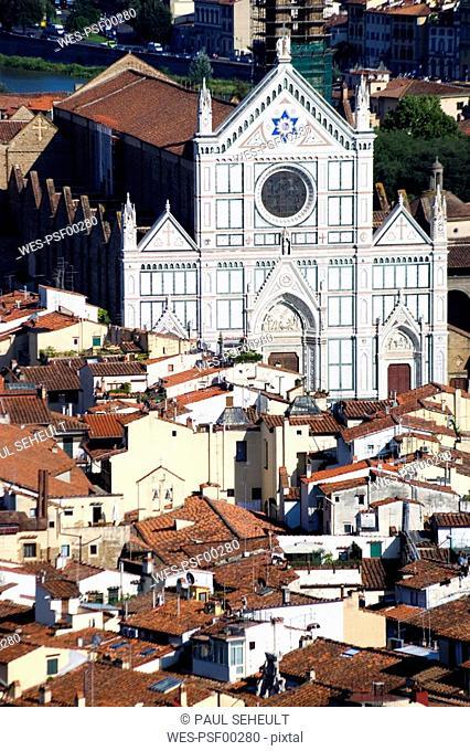 Italy, Tuscany, Florence, Santa Croce
