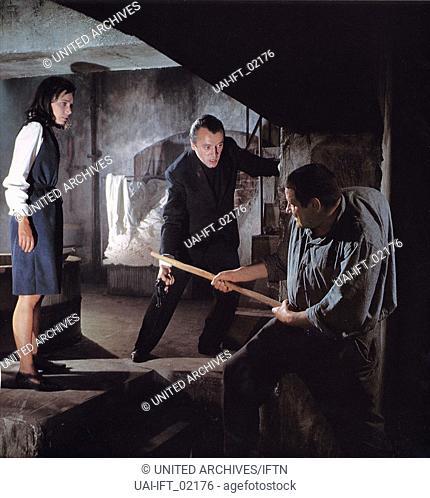 Der Bucklige von Soho, Deutschland 1966, Regie: Alfred Vohrer, Darsteller: Richard Haller, Monika Peitsch, Eddi Arent