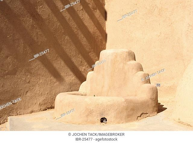 USA, United States of America, New Mexico: Ranchos de Taos Church, Saint Francis Assisi Mission