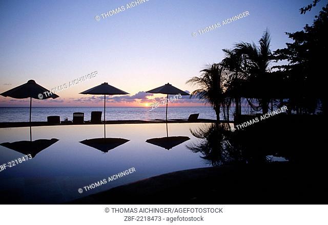 sun rise Tulamben, Bali, Indonesien