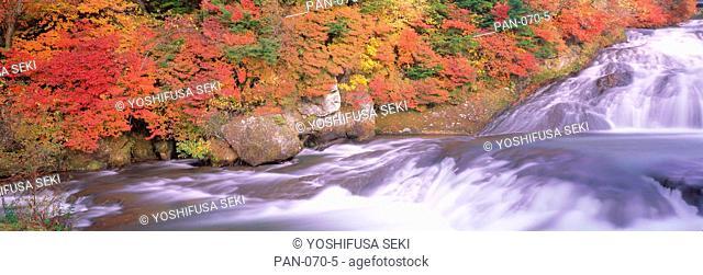 Ryuzu Falls, Oku-nikko, Tochigi, Japan