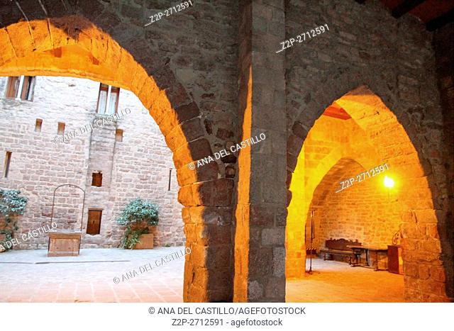 Historical Castle of Cardona. Barcelona