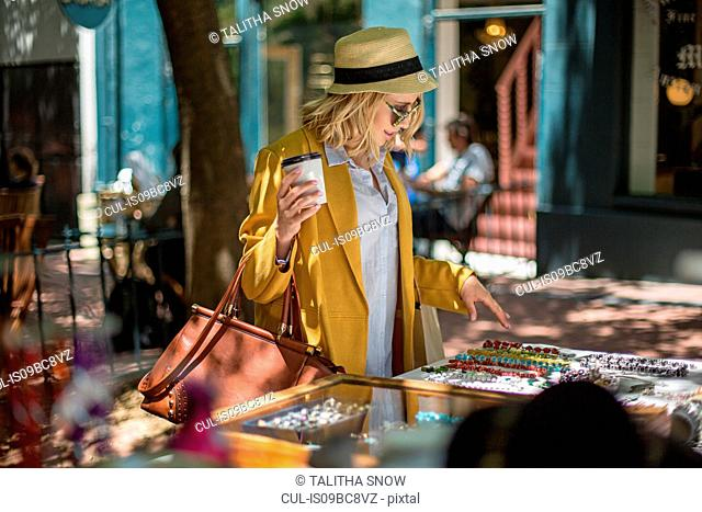 3c3a64c32d9ed Tourist sunglasses stall Stock Photos and Images