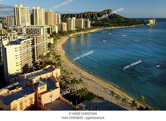 USA, Hawaii, Oahu, Honolulu, Waikiki, USA, Hawaii, Oahu, Honolulu, Waikiki