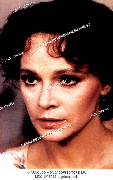 Laura Antonelli in Chaste and Pure. Italian actress Laura Antonelli looking troubled in the film Chaste and Pure. Rome, 1981