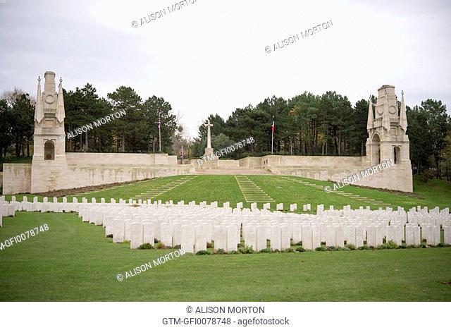 Military Cemetery Etaples France WW1