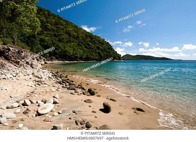 France, Guadeloupe (French West Indies), Les Saintes, Terre de Haut, Plage de Crawen