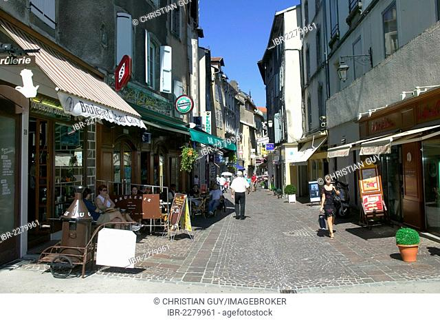 Town of Aurillac, Cantal, France, Europe