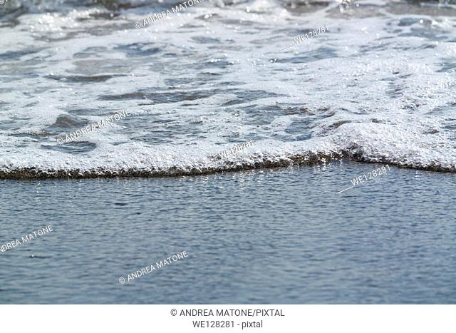 Sea water surface