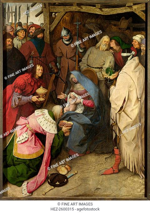 The Adoration of the Kings, 1564. Found in the collection of the National Gallery, London