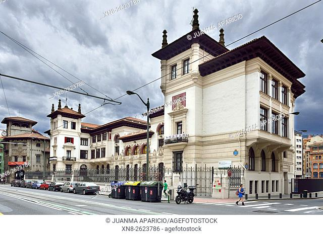 Atxuri Quarter, Bilbao, Biscay province, Basque Country, Euskadi, Spain, Europe