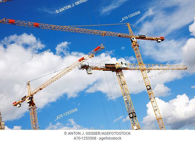 Building site , zurich switzerland