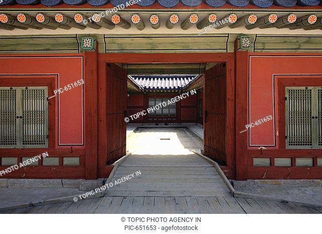 Changgyeonggung Palace,Jongno-gu,Seoul,Korea