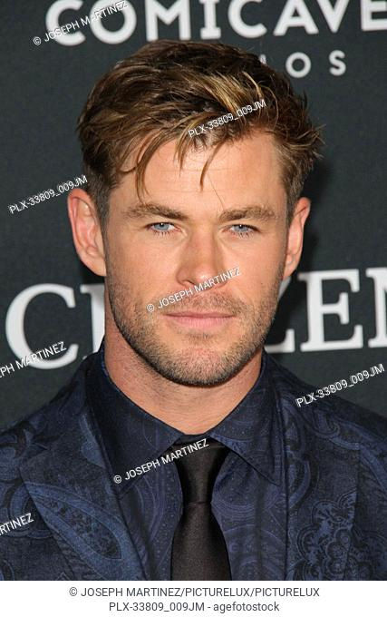 """Chris Hemsworth at The World Premiere of Marvel Studios' """"""""Avengers: Endgame"""""""" held at the Los Angeles Convention Center, Los Angeles, CA, April 22, 2019"""