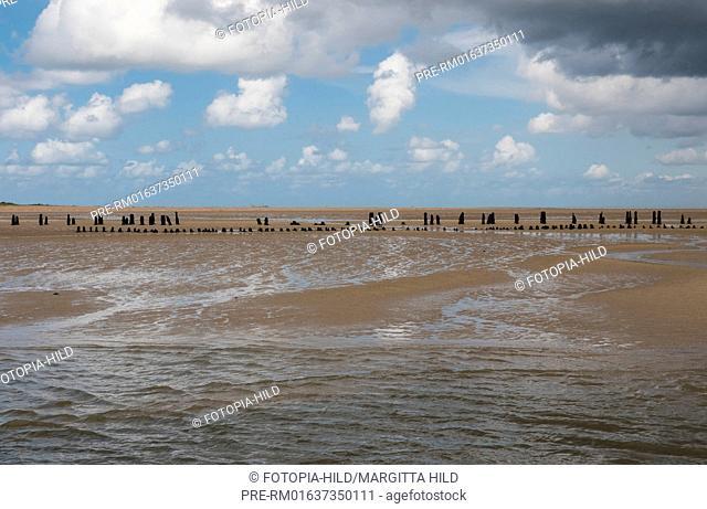 Former Ostanleger, Wangerooge, Friesland district, Lower Saxony, North Sea, Germany, June 2016 / Ehemaliger Ostanleger, Wangerooge, Landkreis Friesland