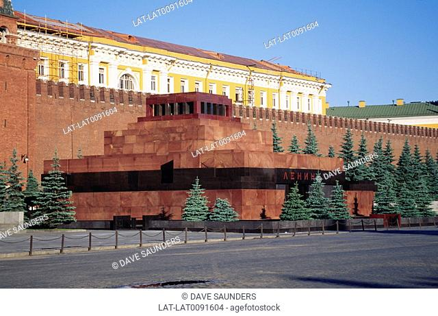 Lenin's Mausoleum is located in Red Square in Moscow. It is the final resting place of Vladimir Lenin 1870 - 1924 . The body is embalmed and is on public...