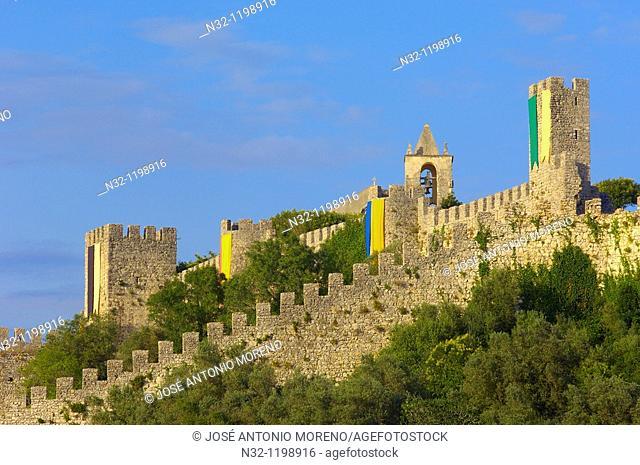 Montemor o Velho, Castle, Coimbra district, Beiras region, Portugal, Europe