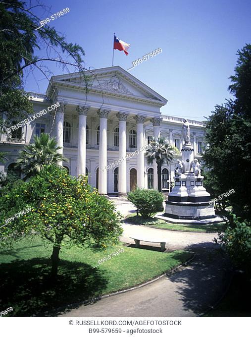Old Parliament Building, Santiago, Chile