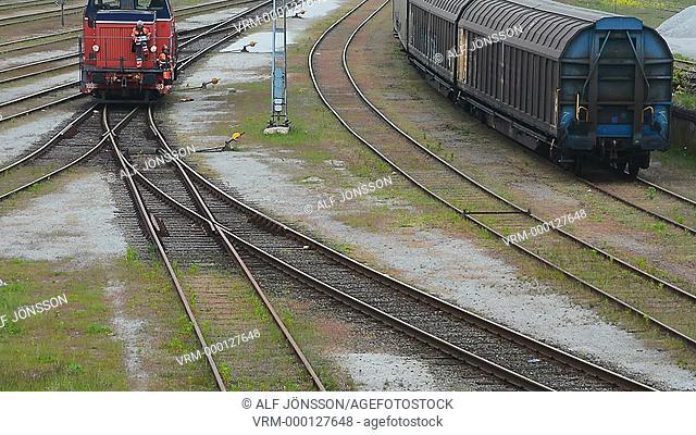 Yard locomotive